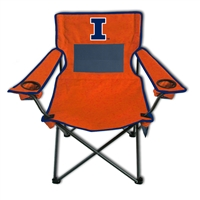 Illinois Fighting Illini Monster Mesh 300lb. Weight Chair