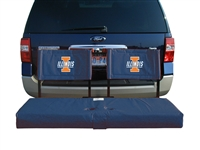 Illinois Fighting Illini Tailgate Hitch Seat Cover