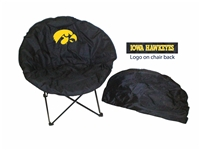 Iowa Hawkeyes Round Chair