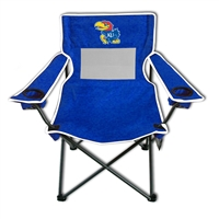 Kansas Jayhawks Monster Mesh 300lb. Weight Chair