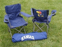 Kansas Jayhawks Junior Ultimate Tailgate Chair