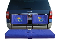 Kansas Jayhawks Tailgate Hitch Seat Cover