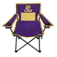 LSU Tigers Monster Mesh 300lb. Weight Chair