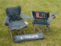 Miami Hurricanes Junior Ultimate Tailgate Chair