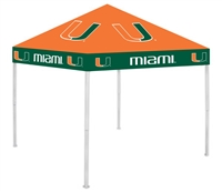 Miami Hurricanes 9x9 Ultimate Tailgate Canopy
