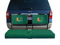 University of Miami Tailgate Hitch Seat Cover
