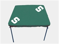 Michigan State Spartans Card Table Cover