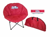 Mississippi Ole Miss Rebels Round Chair