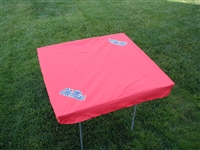 Ole Miss Rebels Card Table Cover