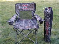 Nebraska Huskers Realtree Camo Chair
