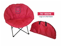 North Carolina State Wolfpack Round Chair