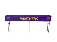 Northern Iowa (UNI) Panthers Fitted Canopy Table Cover