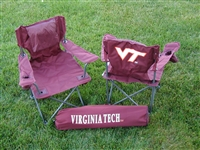 Virginia Tech Hokies Junior Ultimate Tailgate Chair