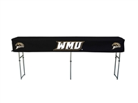 Western Michigan (WMU) Broncos Fitted Canopy Table Cover