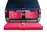 Wisconsin Tailgate Hitch Seat Cover