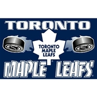 Toronto Maple Leafs NHL 3'x5' Banner Flag
