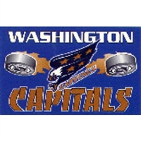 Washington Capitals NHL 3'x5' Banner Flag