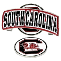 South Carolina Gamecocks Slider Hat Clip Ball Marker