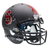 Stanford Cardinal NCAA Authentic Air XP Full Size Helmet (Alternate Black 1)