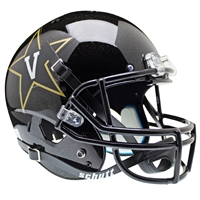 Vanderbilt Commodores NCAA Replica Air XP Full Size Helmet (Alternate Black 2)
