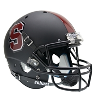 Stanford Cardinal NCAA Replica Air XP Full Size Helmet (Alternate Black 1)