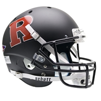 Rutgers Scarlet Knights NCAA Replica Air XP Full Size Helmet (Alternate Black w/ Red 2)