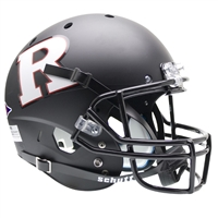 Rutgers Scarlet Knights NCAA Replica Air XP Full Size Helmet (Alternate Black w/ White R 3)