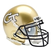 Georgia Tech Yellowjackets NCAA Authentic Mini 1/4 Size Helmet