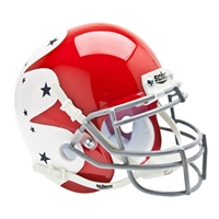 Air Force Falcons NCAA Authentic Mini 1/4 Size Helmet (Alternate Red w/ White 1)