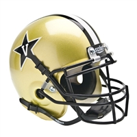 Vanderbilt Commodores NCAA Authentic Mini 1/4 Size Helmet