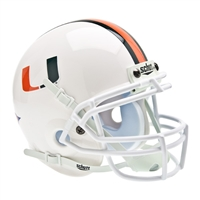 Miami Hurricanes NCAA Authentic Mini 1/4 Size Helmet