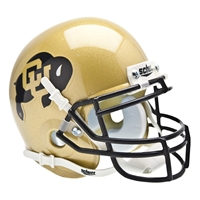 Colorado Golden Buffaloes NCAA Authentic Mini 1/4 Size Helmet