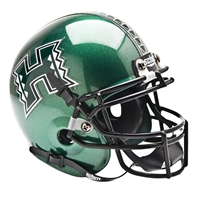 Hawaii Rainbow Warriors NCAA Authentic Mini 1/4 Size Helmet