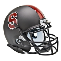 Stanford Cardinal NCAA Authentic Mini 1/4 Size Helmet (Alternate Black 1)