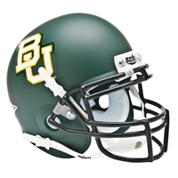 Baylor Bears NCAA Authentic Mini 1/4 Size Helmet (Alternate Green 2)