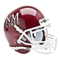 New Mexico State Aggies NCAA Authentic Mini 1/4 Size Helmet