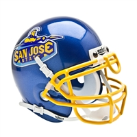 San Jose State Spartans NCAA Authentic Mini 1/4 Size Helmet