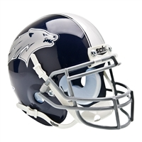 Nevada Wolf Pack NCAA Authentic Mini 1/4 Size Helmet
