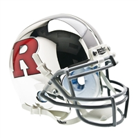 Rutgers Scarlet Knights NCAA Authentic Mini 1/4 Size Helmet (Alternate 4)