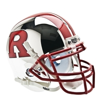 Rutgers Scarlet Knights NCAA Authentic Mini 1/4 Size Helmet (Alternate 6)