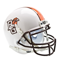 Bowling Green Falcons NCAA Authentic Mini 1/4 Size Helmet (Alternate White 1)