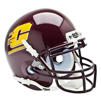 Central Michigan Chippewas NCAA Authentic Mini 1/4 Size Helmet