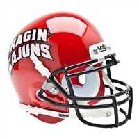 Louisiana Lafayette Ragin Cajuns NCAA Authentic Mini 1/4 Size Helmet