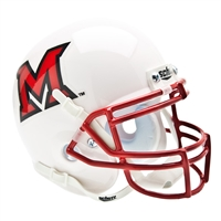Miami Ohio Redhawks NCAA Authentic Mini 1/4 Size Helmet