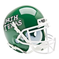 North Texas Mean Green NCAA Authentic Mini 1/4 Size Helmet