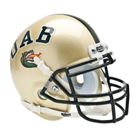 Alabama Birmingham Blazers NCAA Authentic Mini 1/4 Size Helmet
