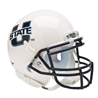 Utah State Aggies NCAA Authentic Mini 1/4 Size Helmet
