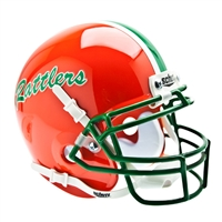 Florida A&M Rattlers NCAA Authentic Mini 1/4 Size Helmet