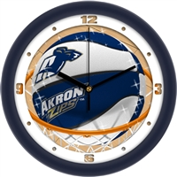 "Akron Zips Slam Dunk 12"" Wall Clock"