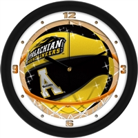 "Appalachian State Mountaineers Slam Dunk 12"" Wall Clock"